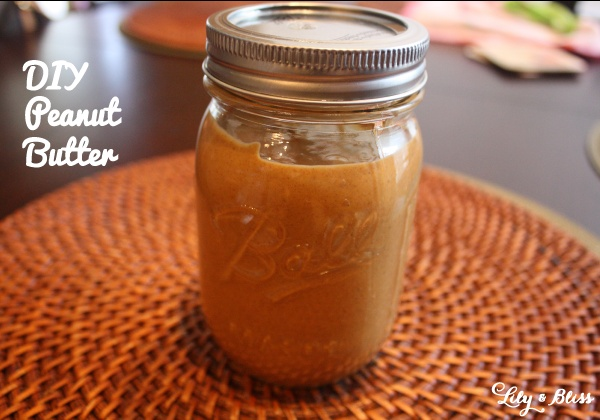 DIY peanut butter. All you need is peanuts and a food processor! Takes ...