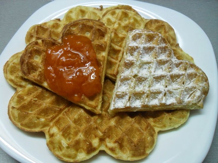 Thin Waffles ~ ibaketoday.com - Light and crisp waffles I can always ...