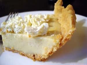 Vanilla-rum Cream Pie... | Cooking | Pinterest