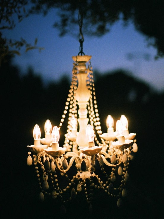 Chandeliers for Outdoor Dining