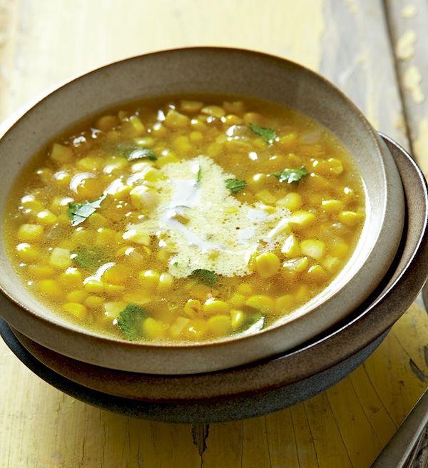 Mexican Fresh Corn and Zucchini Soup (Sopa de Elote y Calabaza, crock ...