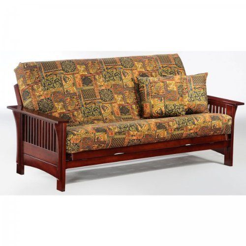 Futon Rosewood 38 H X 88 5 W X By Night And Day F