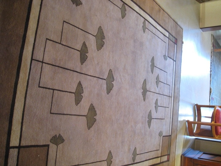 At the mart frank lloyd wright furniture by copeland - Frank lloyd wright rugs ...