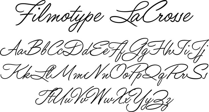 Pretty Handwriting Fonts Filmotype lacrosse fontPretty Handwriting Fonts