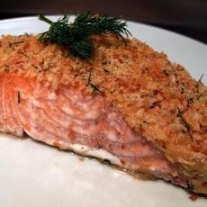 Baked Salmon Fillets Dijon II Recipe | food | Pinterest