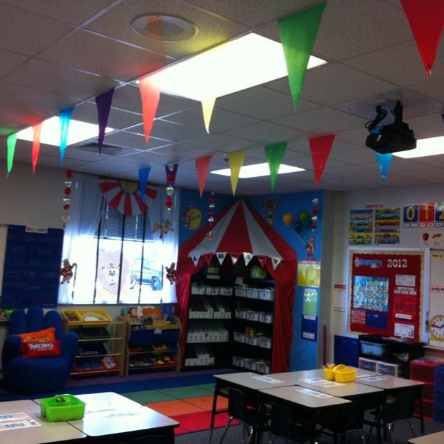 Circus Classroom Decoration : Circus theme for classroom done