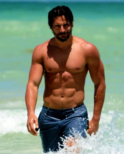 joe manganiello hot beach body  M is for muscles  Pinterest