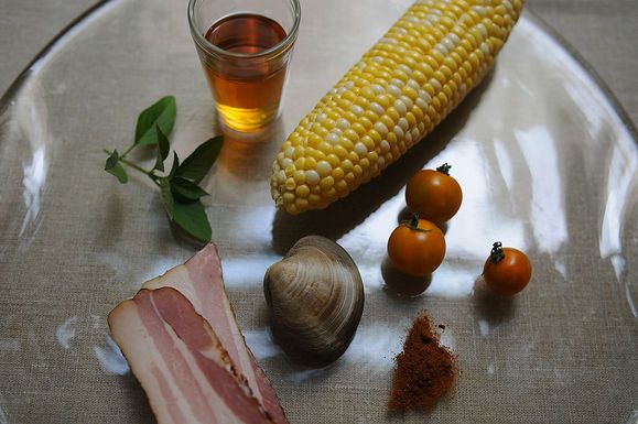 Make a Little, Buy a Little: Corn, Bacon, and Clam Stew - Blog - Whole ...