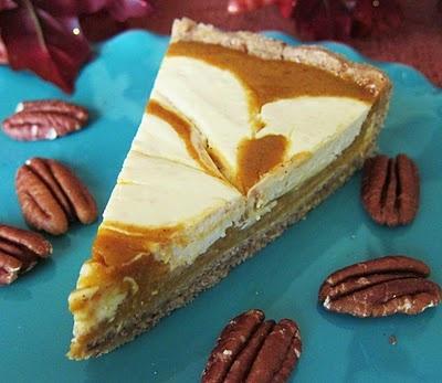 Maple Pumpkin Cheesecake Tart | Indulge | Pinterest