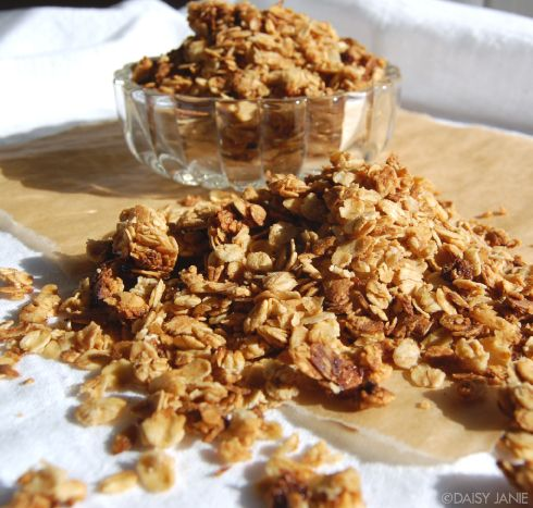 Homemade Granola | recipes | Pinterest