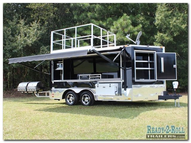 Wow Great Tailgating Trailer Rv Pinterest
