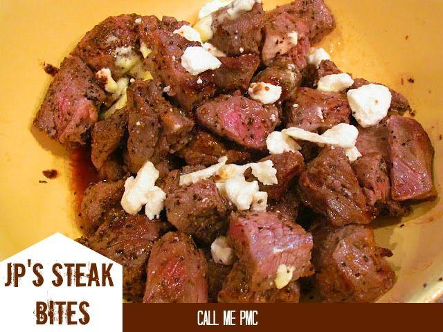 Steak Bites http://www.callmepmc.com/2012/08/jefferson-place-steak ...