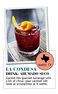 La condesa Drink: ahumado seco Exclusive Drink Recipes | The Zoe ...