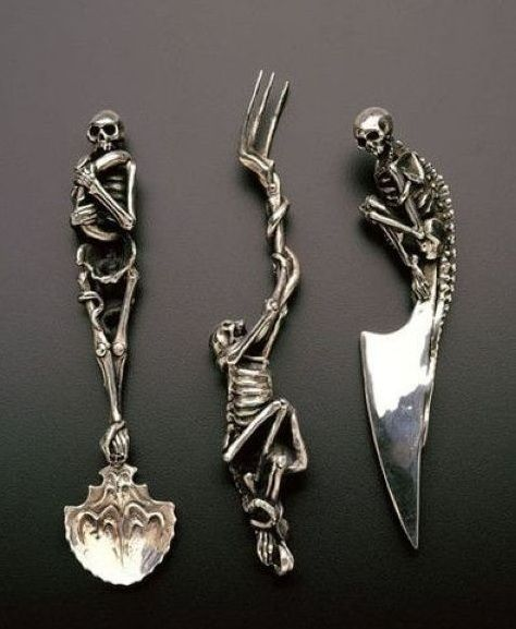 cool silverware kitchen witchery pinterest