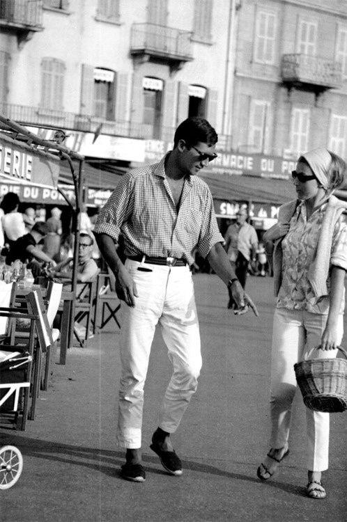 Vintage French Riviera Fashion 60s Riviera Chic Pinterest