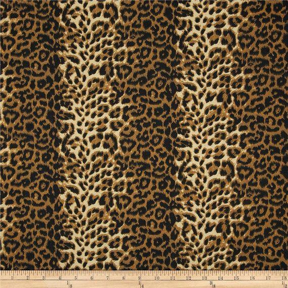 designer fabric shower curtain animal leopard print cotton