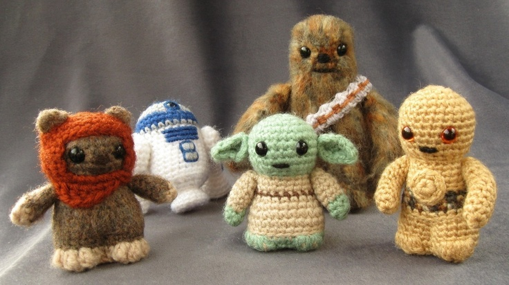 PDF of Ewok - Star Wars Mini Amigurumi Pattern