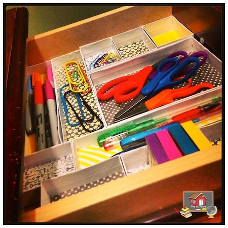 Custom Teacher Desk Organizers - The Organized Classroom Blog
