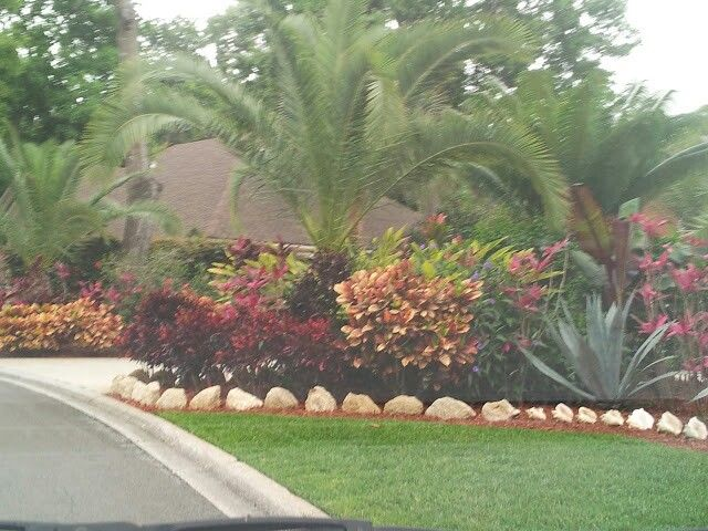 Landscaping front yard landscaping ideas tropical - Front garden ideas tropical ...