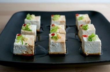 Yakko Tofu Bites | Creative Appetizers | Pinterest