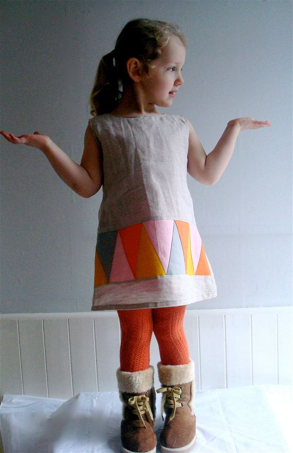 What's the Point Linen Dress from Tree Fall Design