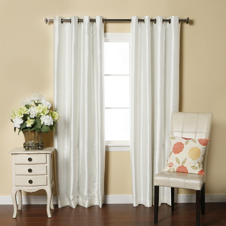 Silk Curtains Texture
