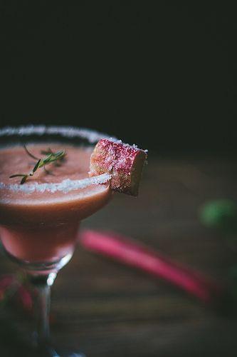 Rhubarb Margarita | Adventures in Cooking by Eva Kosmas Flores, via ...