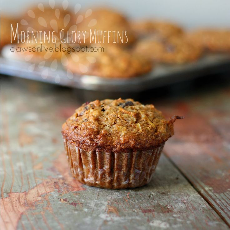 Clawson Live: Morning Glory Muffin