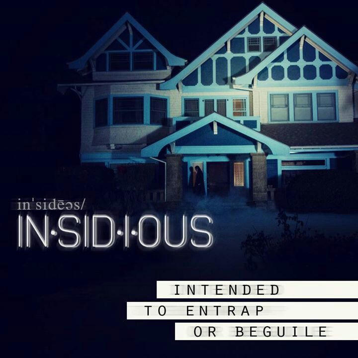 Insidious Part 2 coming on September 13th!!! Be ready