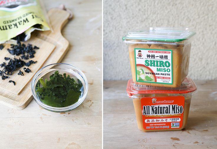 Miso soup ingredients | SOUPS | Pinterest