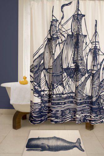 Thomas Paul Ship Shower Curtain Thomas Paul,http://www.amazon.com/dp ...