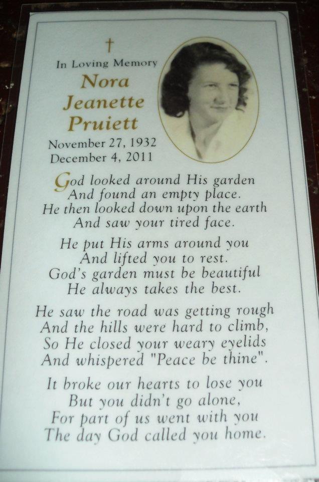Rest in peace grandma 11 27 32 12 4 11 well said pinterest