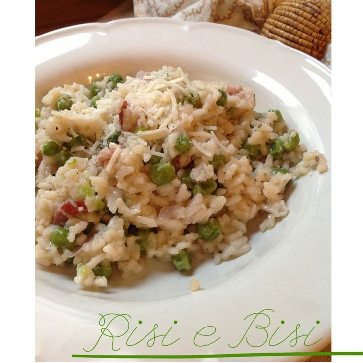 risi e bisi rice and peas a traditional venetian dish