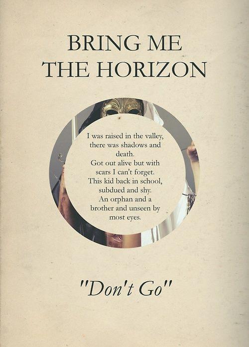Bring me the horizon quotes