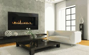 Majestic 60 Inch Echelon Wide View Direct Vent Gas Fireplace with Signature Command Controls - Natural Gas $3,989