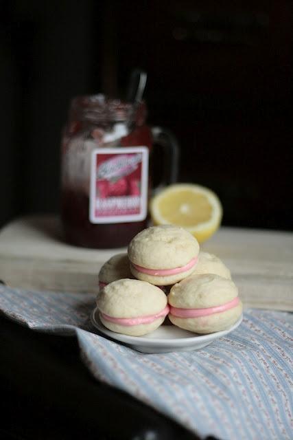 ... Raspberry Lemon Cream Cheese Whoopie Pies {Guest Post from Indigo