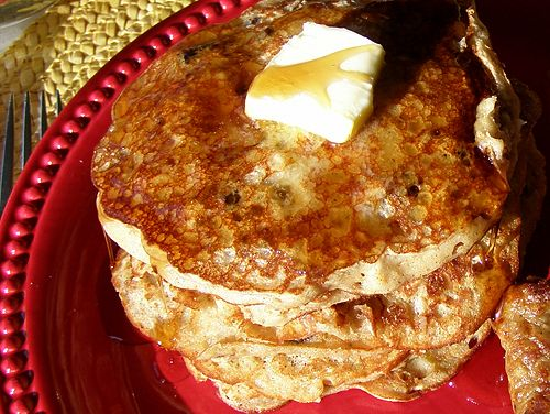 Oatmeal Cookie Pancakes from @Lana Stuart | Never Enough Thyme http ...