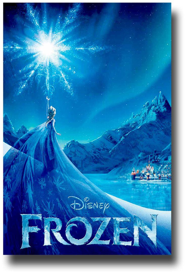 Disney's Frozen Movie Poster | Disney 2 All Disney | Pinterest