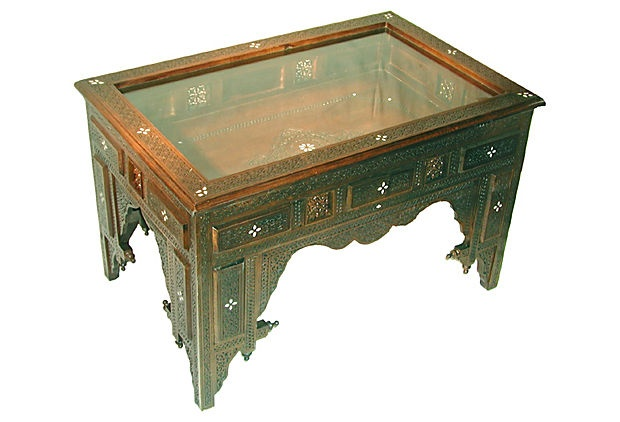 And So Beautiful Too Mariam Curio Table On