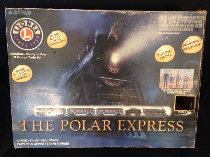 Lionel O Gauge The Polar Express Christmas Train Set Adult Owned Model ...