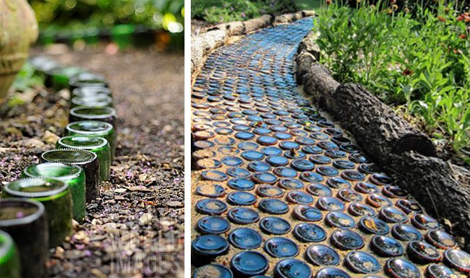 Funky garden paths pathways in the garden pinterest for Funky garden designs