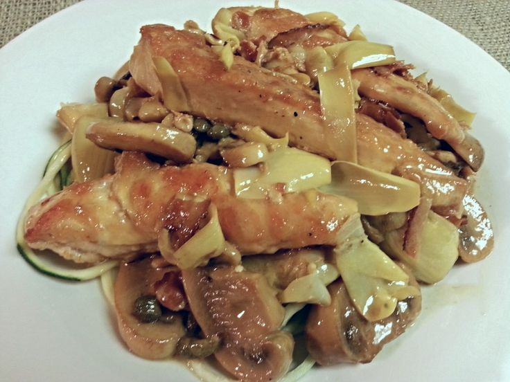 Chicken Scallopini | Poultry-- low carb/primal/clean eating ...