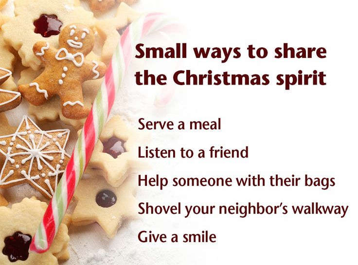 Ideas for sharing the christmas spirit christmas season for Christmas spirit ideas