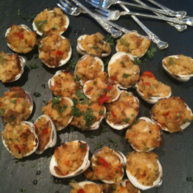 ... baked stuffed clams recipe martha stewart 454 cwn baked clams