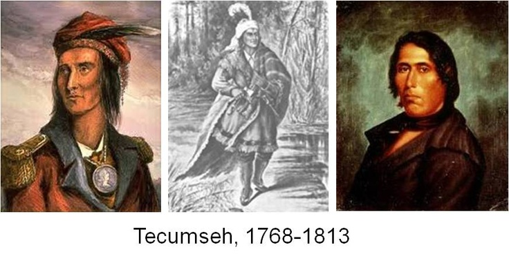 ❖ July 2, 1809 ❖ Shawnee Chief Tecumseh calls on all Indians to unite and resist. Together, Tecumseh argued, the various tribes had enough strength to stop the whites from taking further land. By 1810, he had organized the Ohio Valley Confederacy, which united Indians from the Shawnee, Potawatomi, Kickapoo, Winnebago, Menominee, Ottawa, and Wyandot nations.