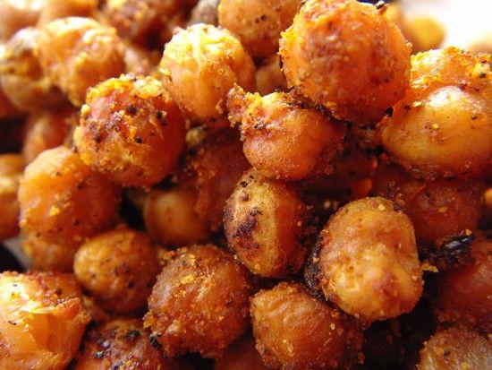 Roasted chickpeas | Vegetables | Pinterest