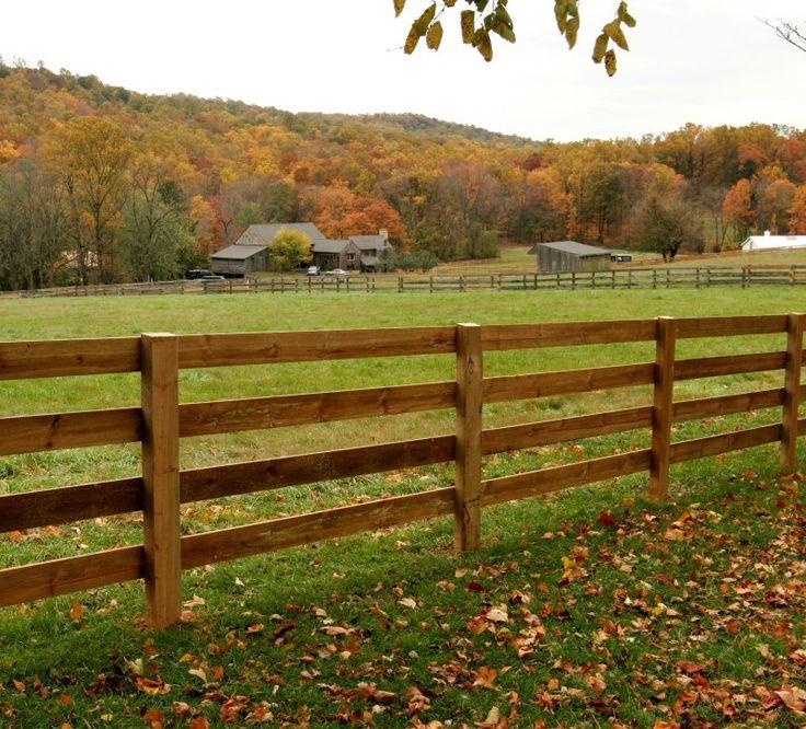 Farm Fence Country Fences Pinterest