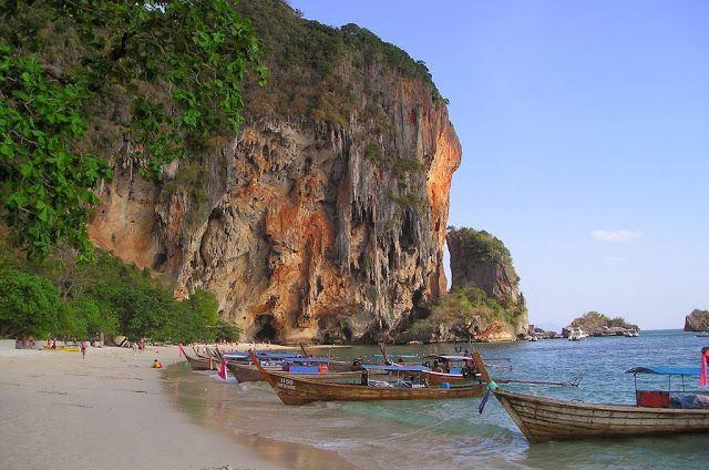 Railay Beach Thailand - Car Interior Design