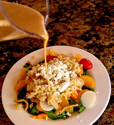 Quinoa Mandarin Salad..gonna try this | Yummy-ness! | Pinterest