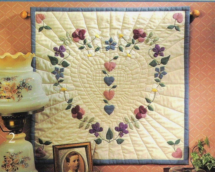 Quilted Heart Wall Hanging Patterns
